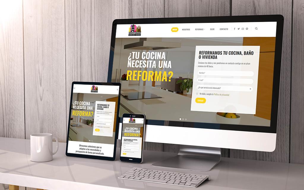 diseño web serveis guinardó