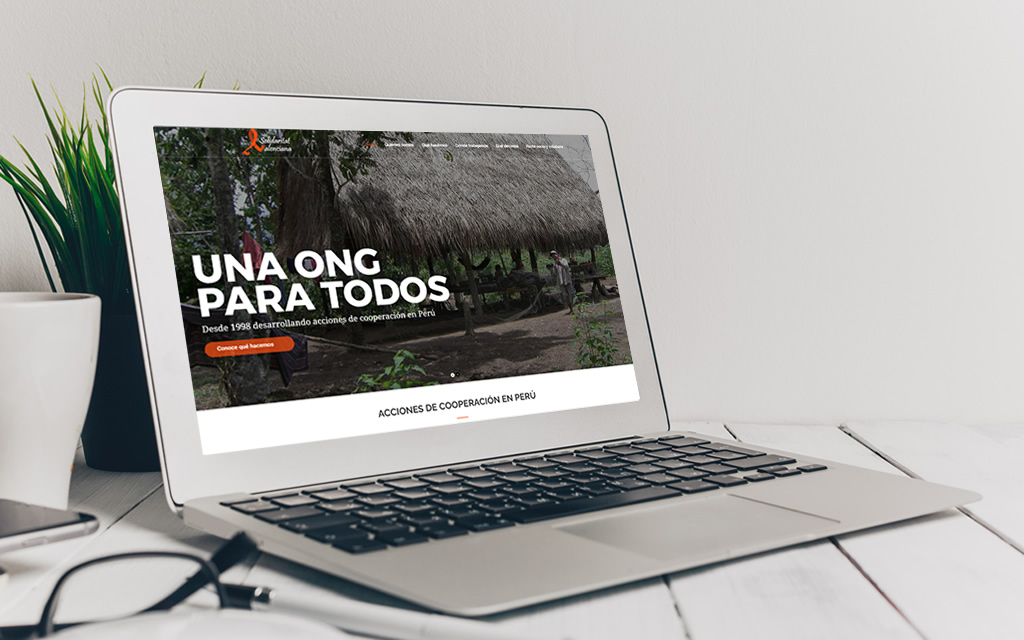 Diseño web ong