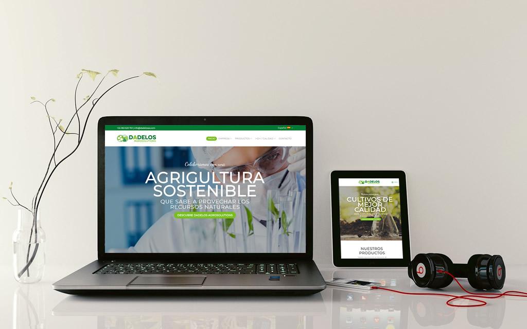 diseño web dadelos agrosolutions