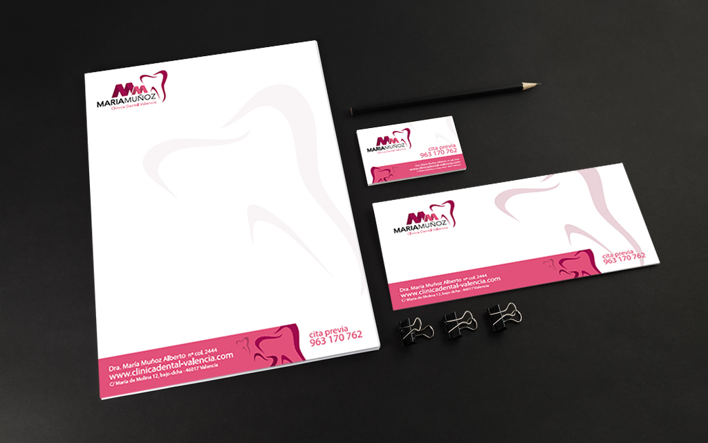 diseño identidad corporativa clinica dental