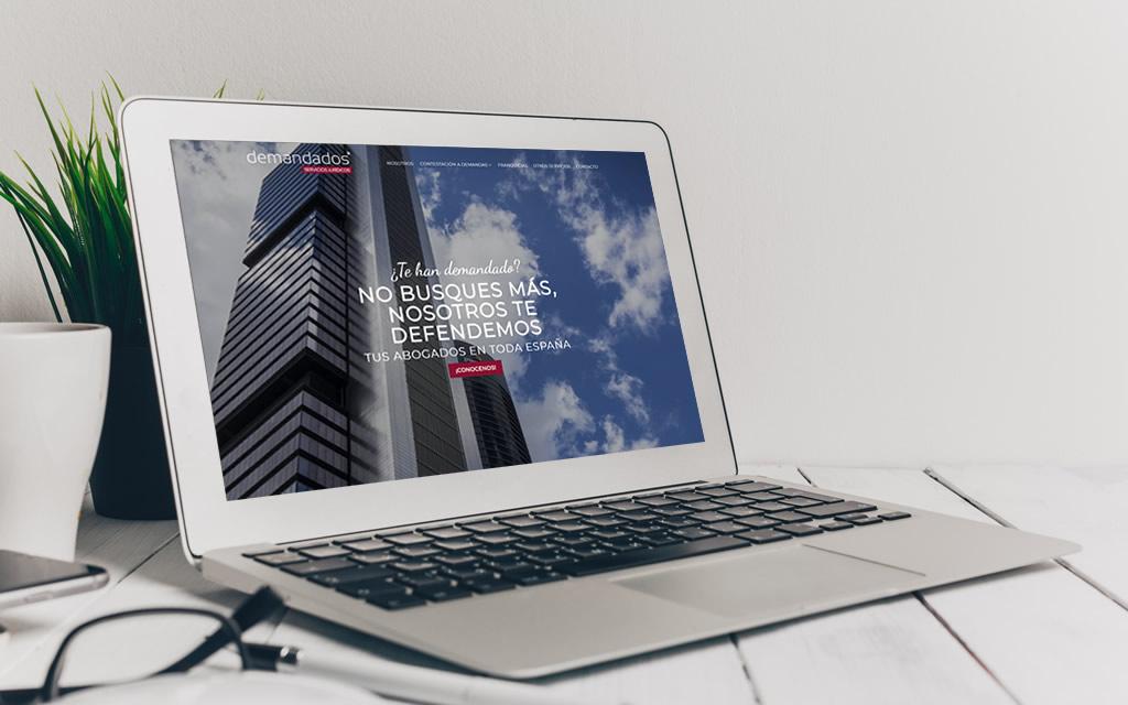 diseño web Demandados