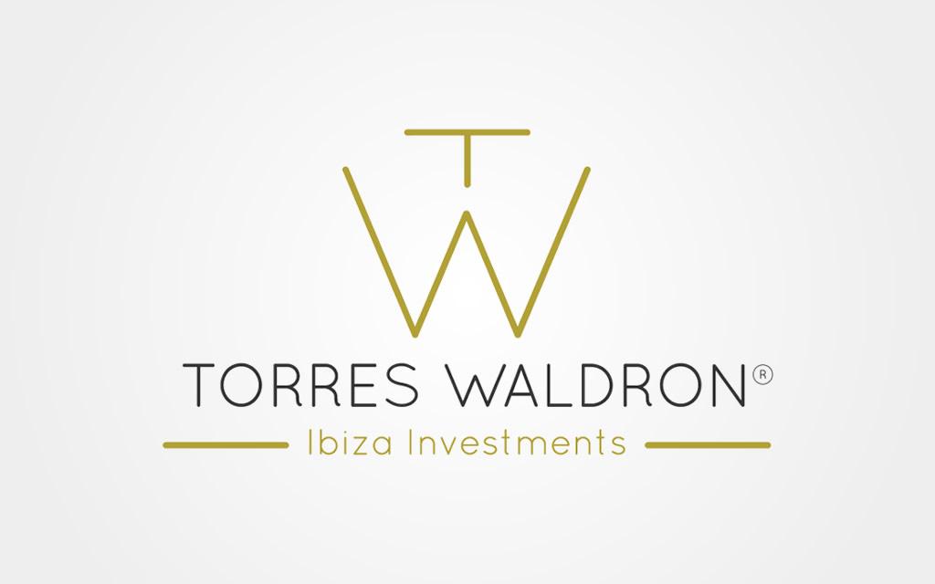diseño logo torres waldron