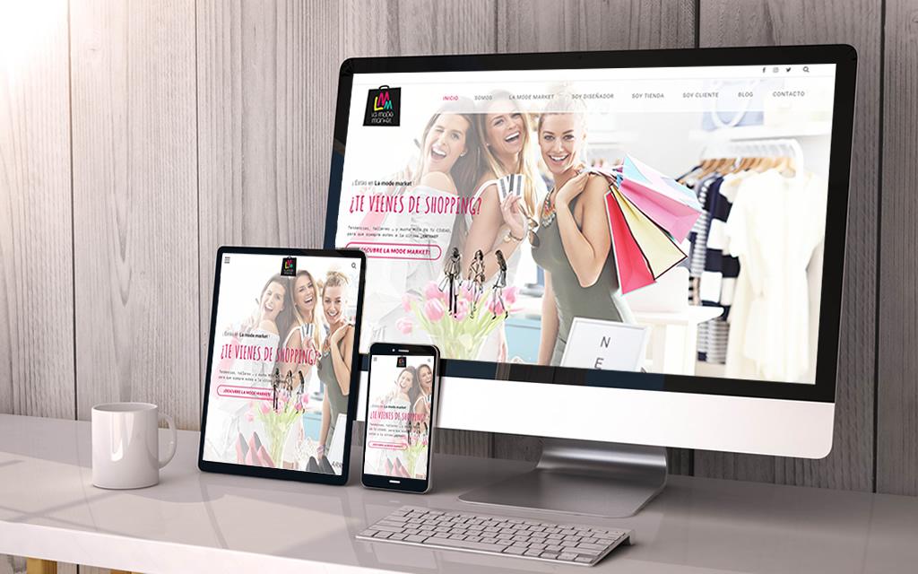 diseño web La Mode Market