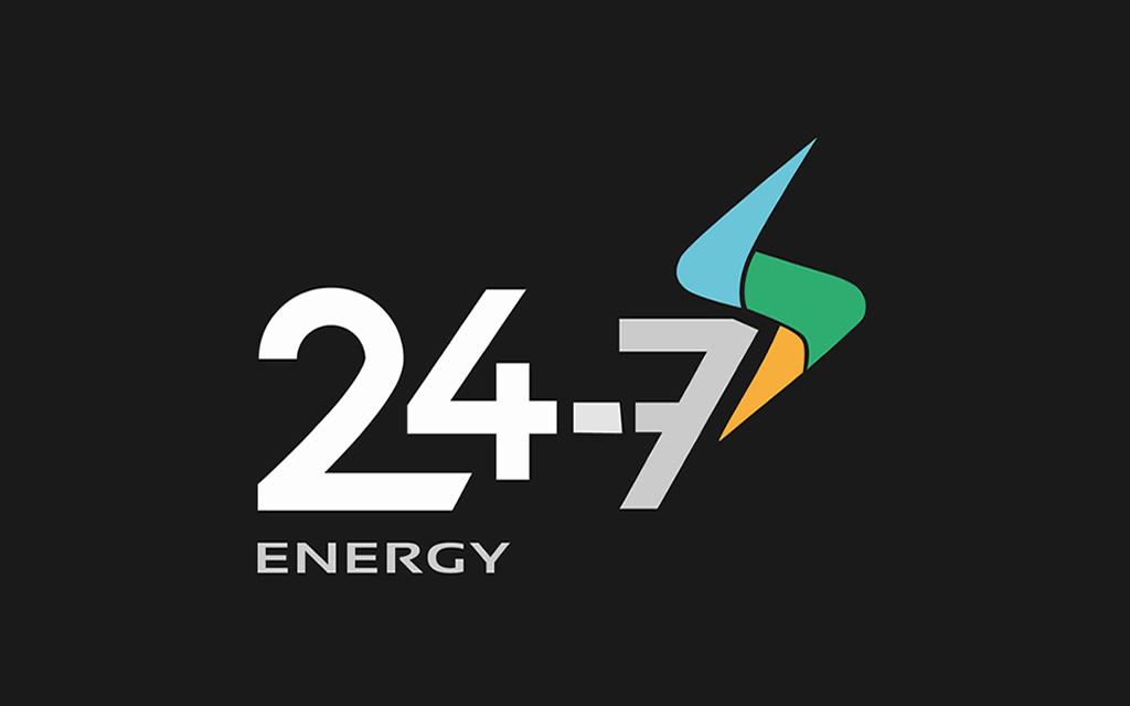 diseño logo 24-7