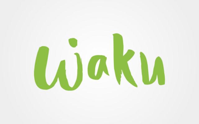 diseño logo waku