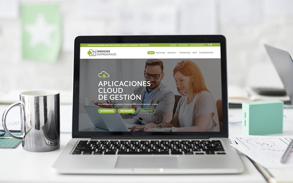 Diseño web DyD Servicios