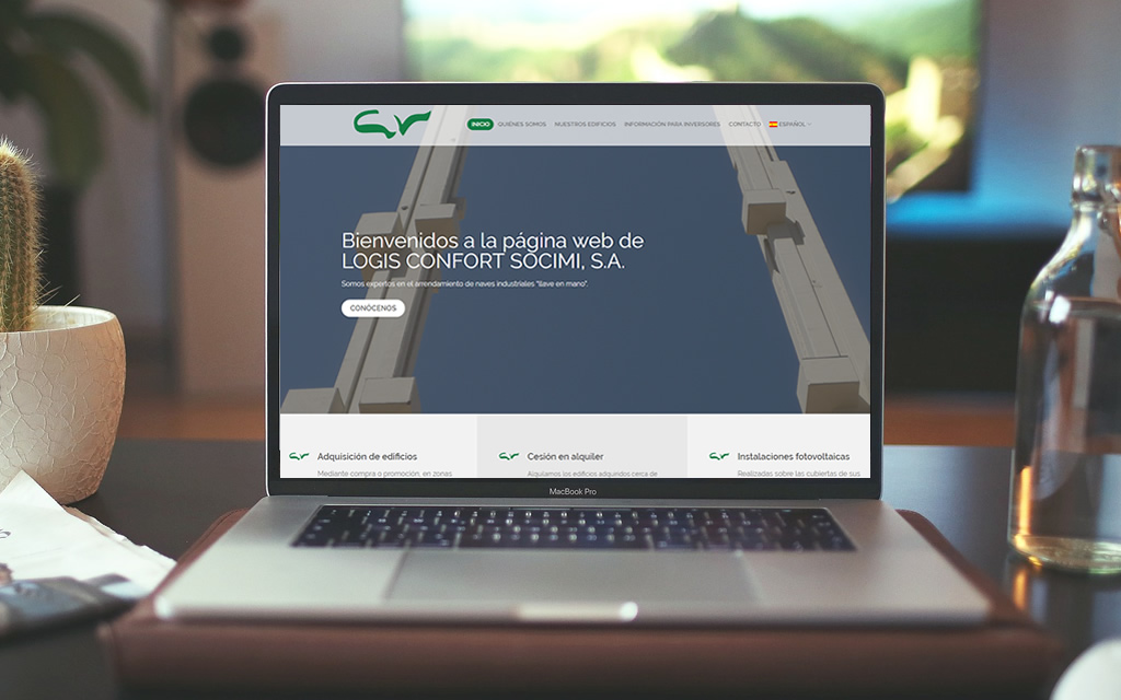 Diseño web Logis Confort Socimi