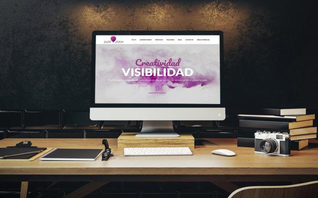 diseño web Publi Place