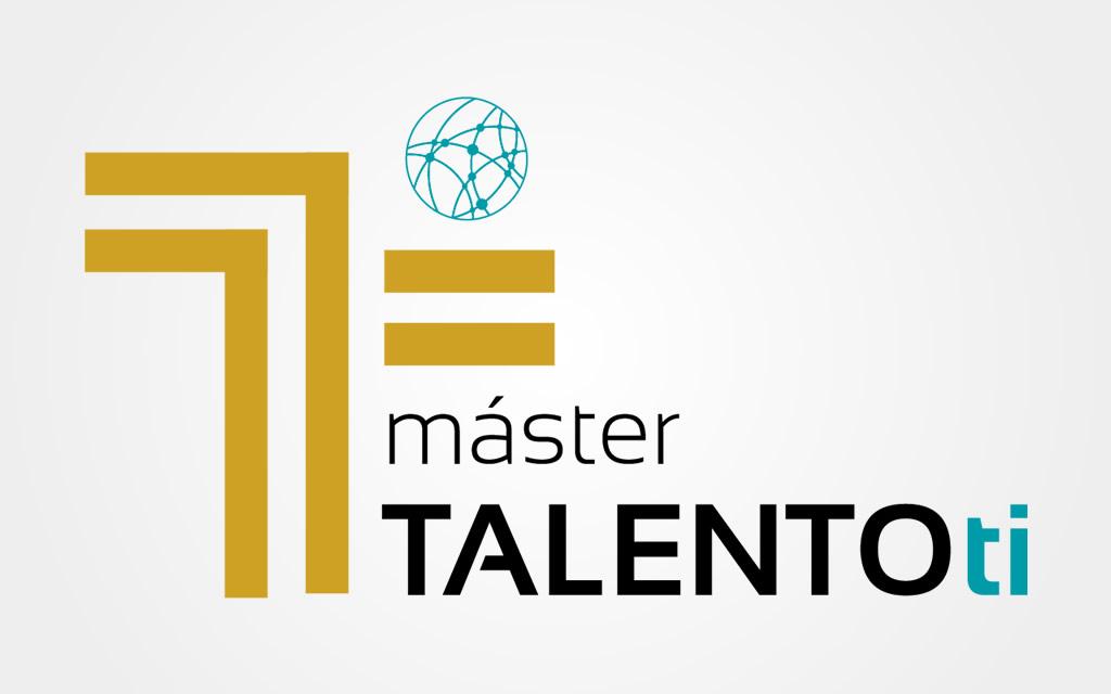 Diseño logo Máster Talento TI