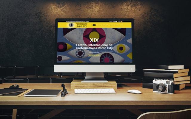 Diseño web Festival Internacional Cortometrajes Radio City
