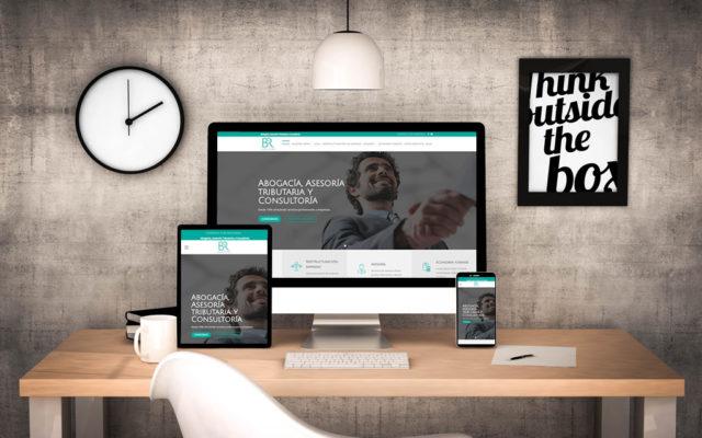 Diseño web B y R Consultores