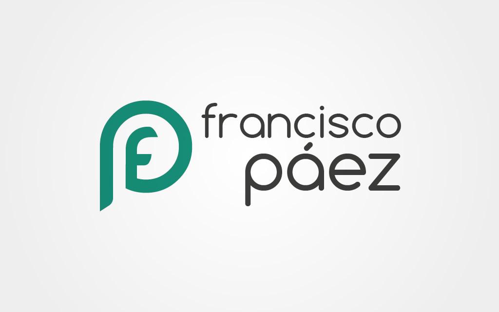 Diseño logo Francisco Páez
