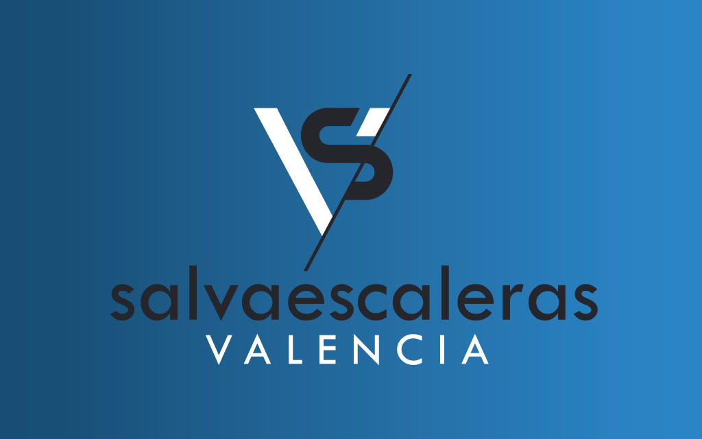 Diseño logo Salvaescaleras Valencia