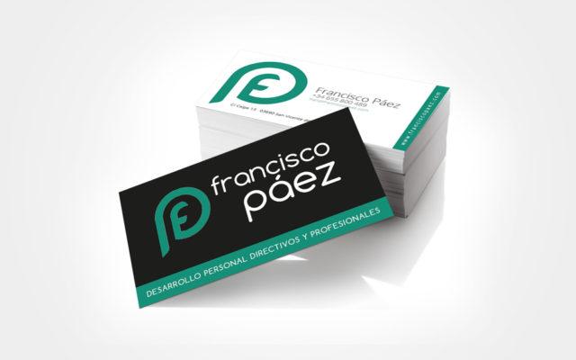 Diseño tarjetas Francisco Páez