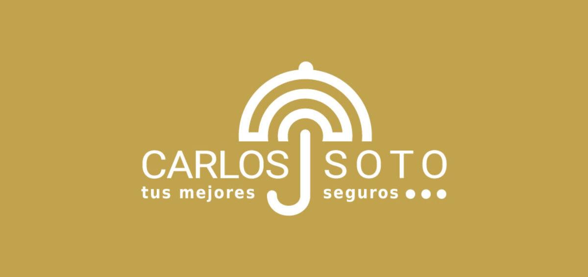 Diseño logo Carlos Soto Seguros
