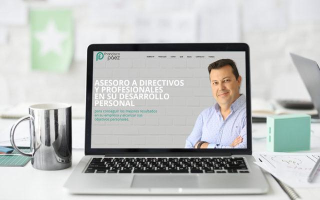 Diseño web Francisco Páez