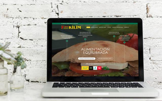 Diseño web Kilim