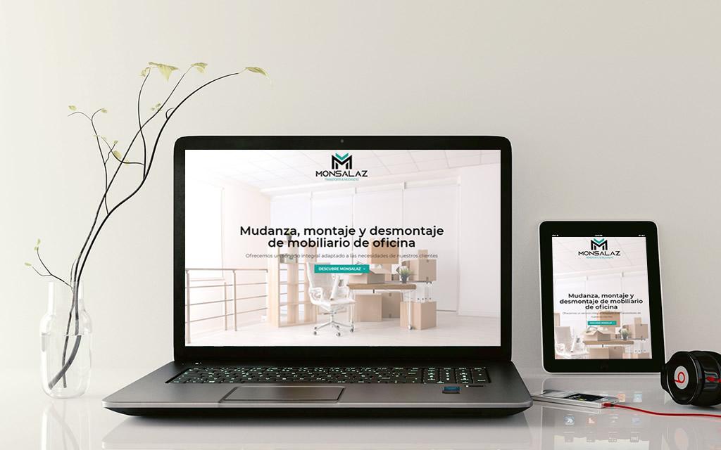 Diseño web Monsalaz