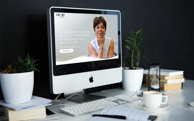 diseño web Raquel Sanz Coach