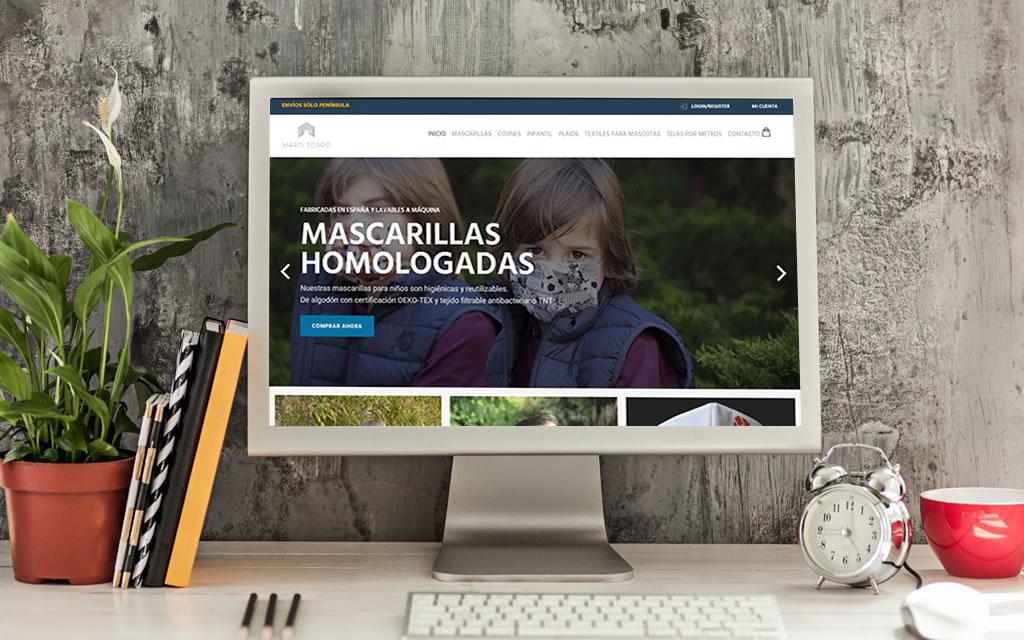 diseño tienda online Martí Torró