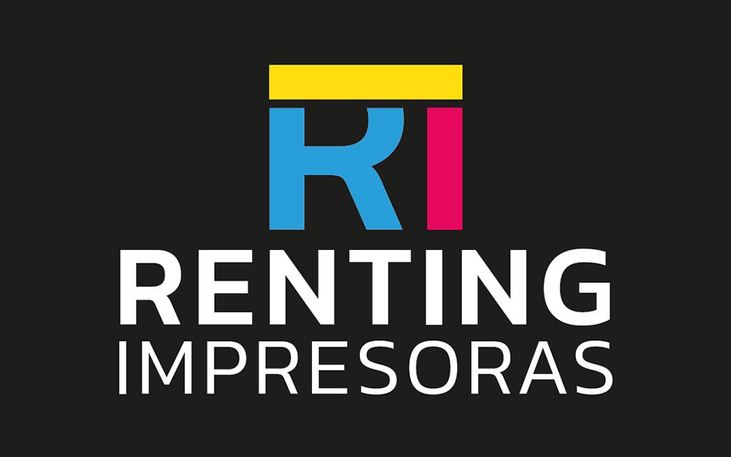 diseño logo renting impresoras