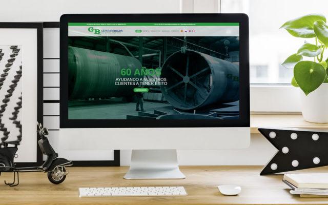 diseño web Gervasio Belda