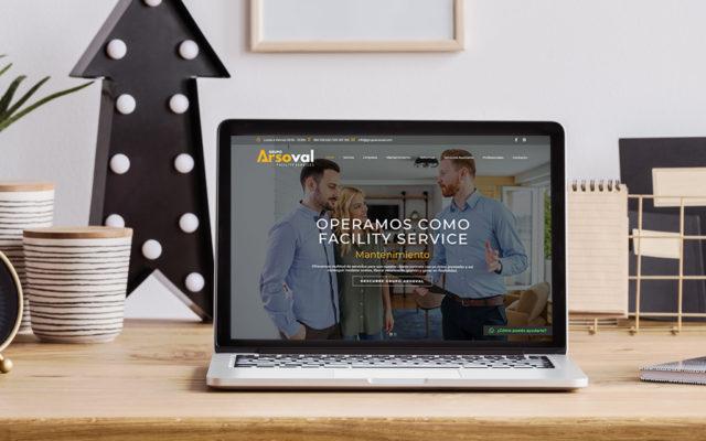 diseño web grupo arsoval
