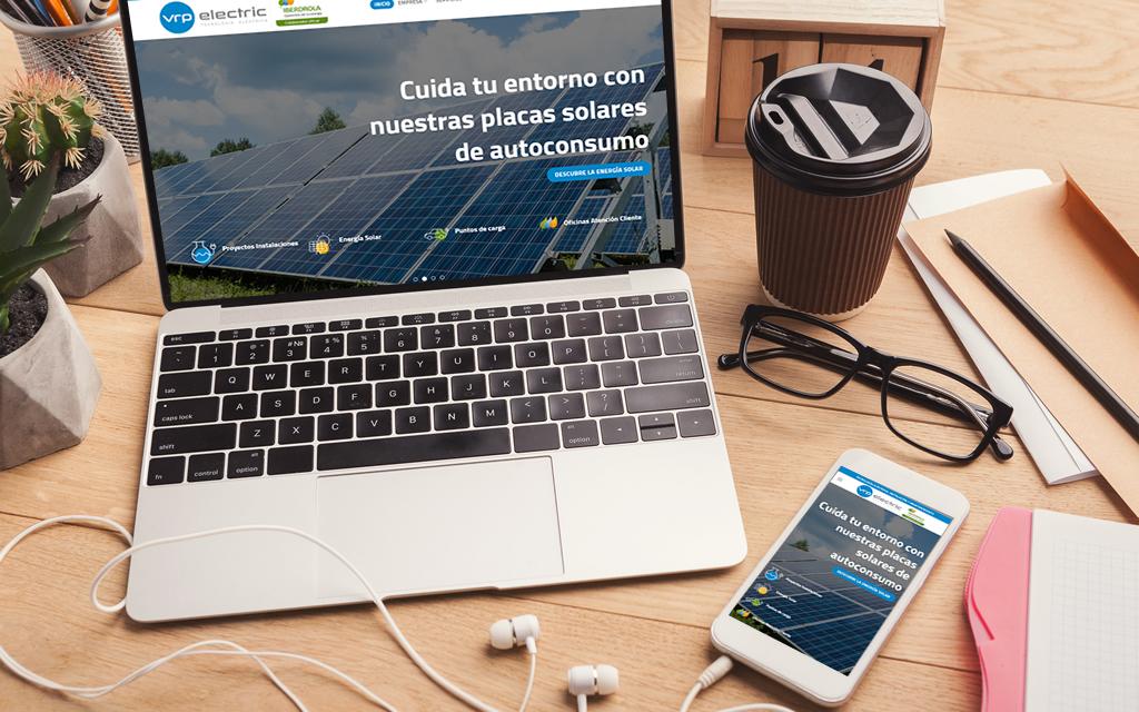Diseño web VRP Electric