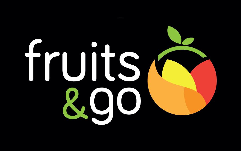 diseno logo fruits and go